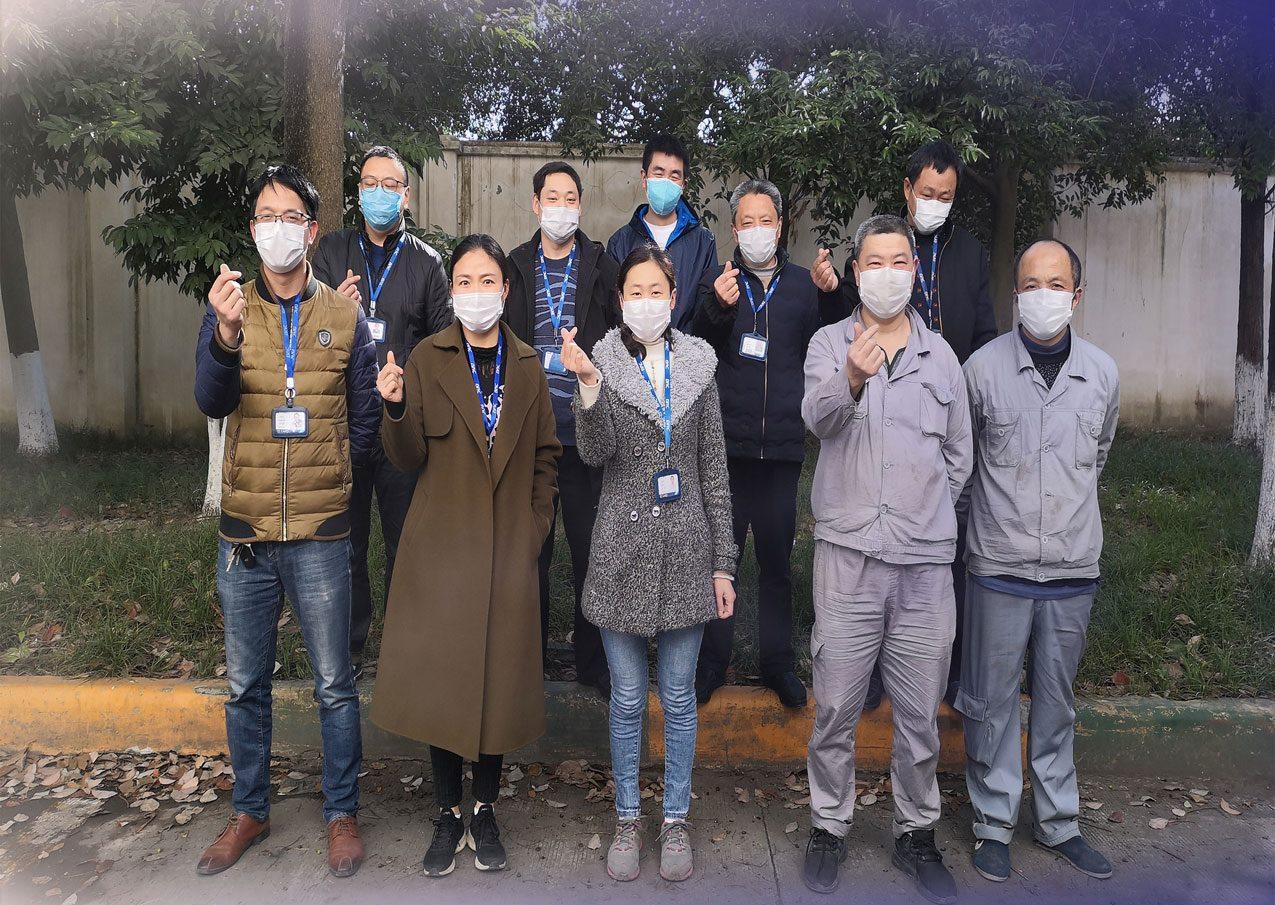 【公司新闻】疫情下的销售铁军,温暖而有力
